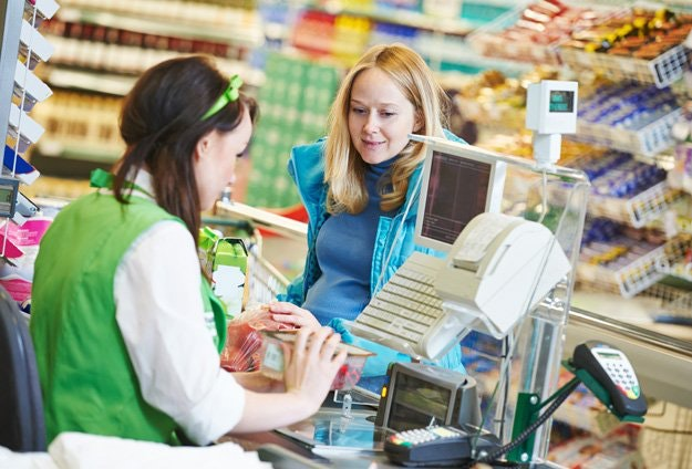 Another job for a college student who is working full time as a cashier?