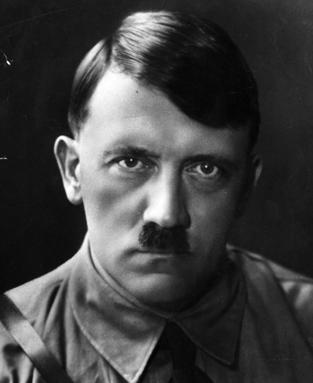 Hitler and his mustache?