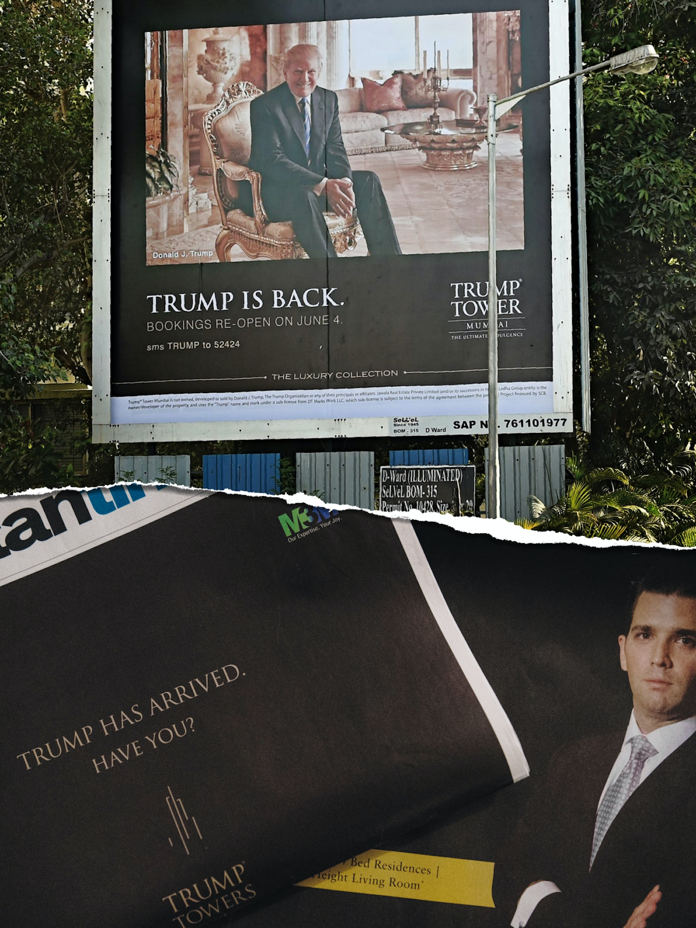 How Trump S Business Partnerships In India Are Undermining The