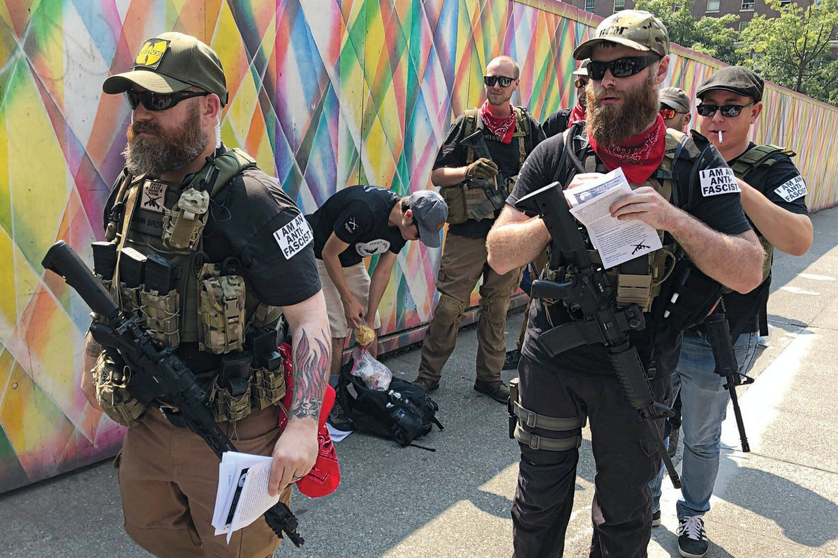 Antifa Is Arming Itself Against a Trump Crackdown | The New