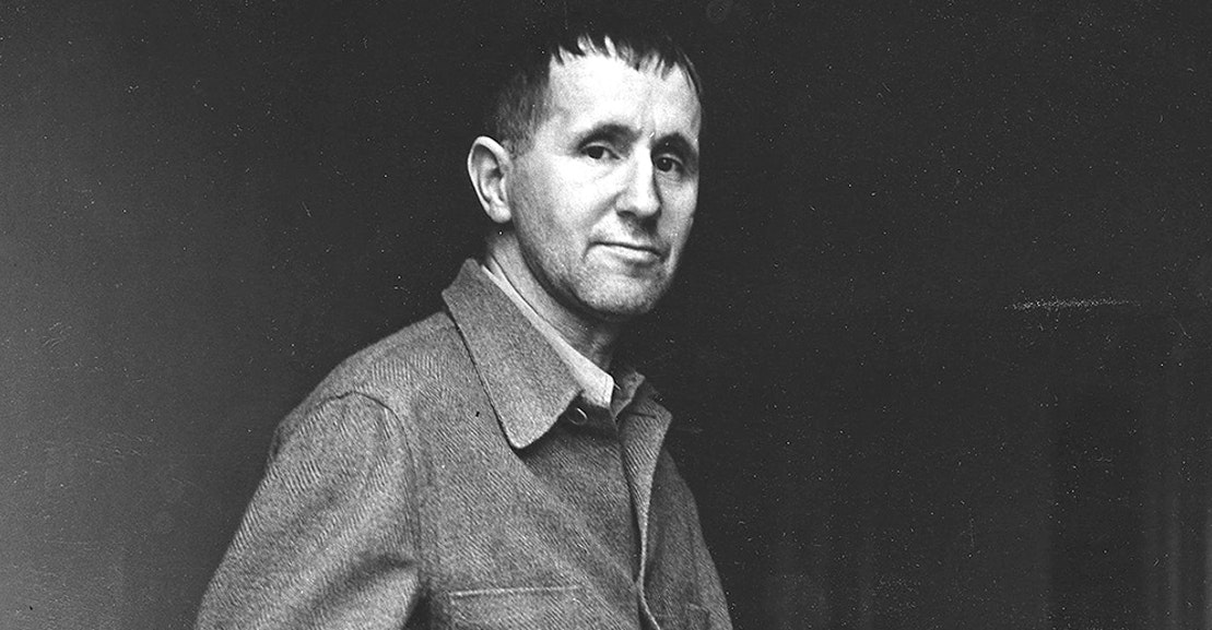 an analysis of the concept of epic theatre in the works of bertolt brecht a german playwright