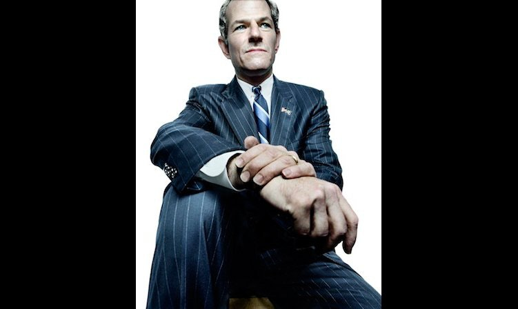 Eliot Spitzer, photographed by Platon
