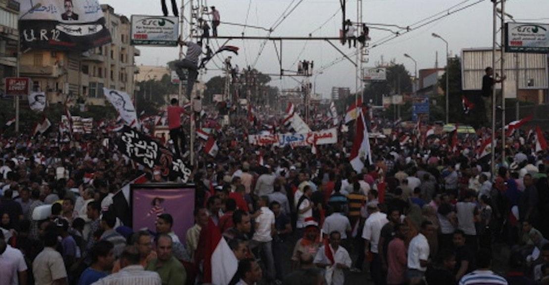 Timeline of the Egyptian Crisis under Mohamed Morsi