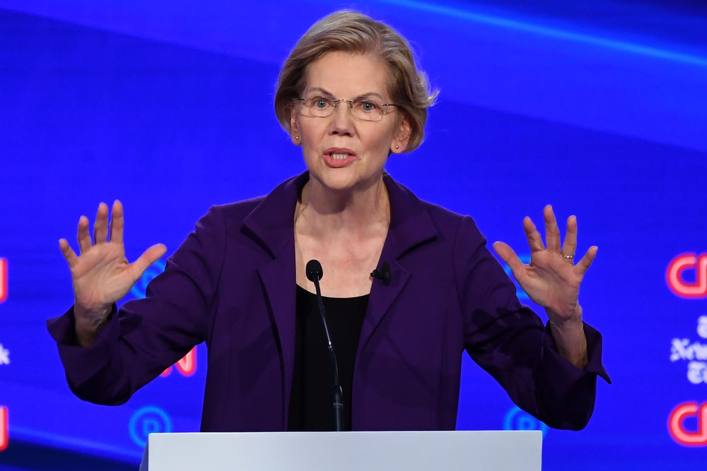 Warren's Medicare-for-All Dodge Is Wearing Thin