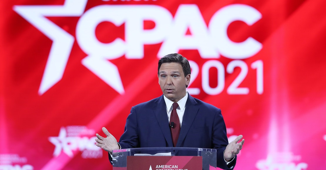 Meltdown at CPAC as Conservatives Struggle to Reconcile Property Rights With Mask Mandates