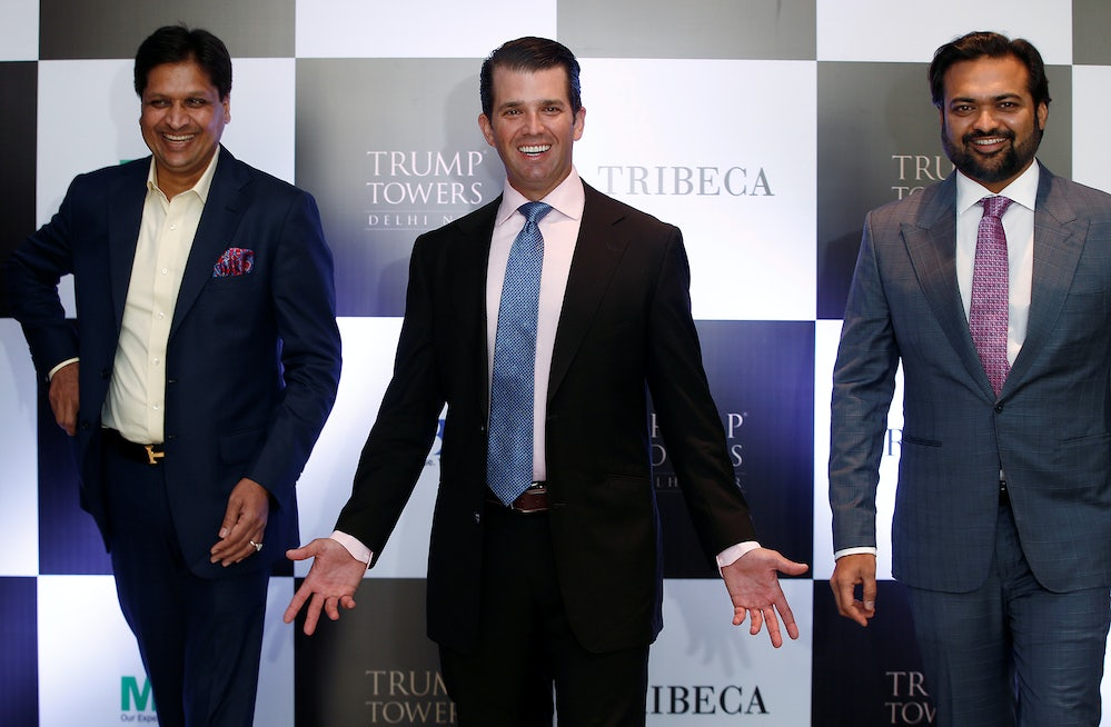 How Trump's Business Partnerships in India Are Undermining