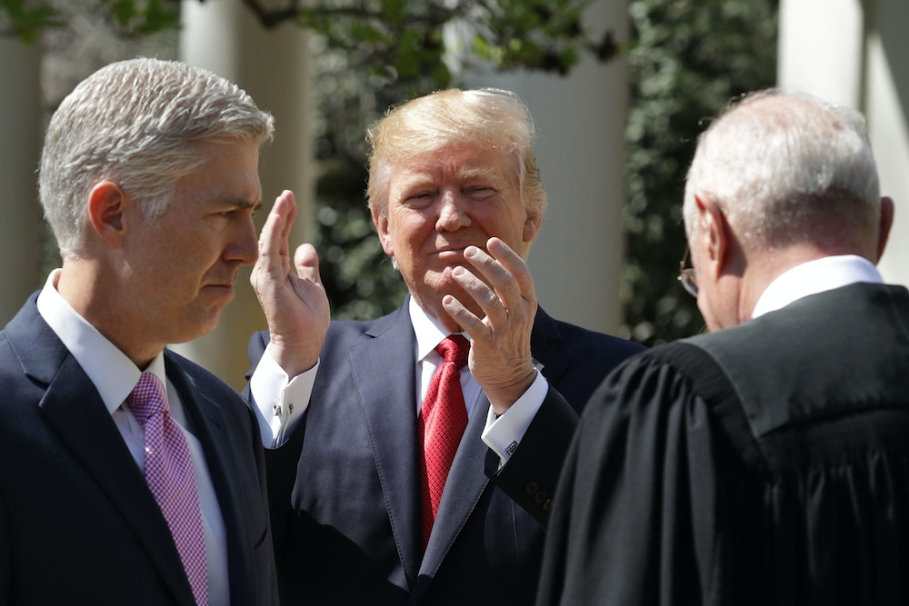 Trump?s Judicial Picks Are Keeping Republicans Happy?and Quiet