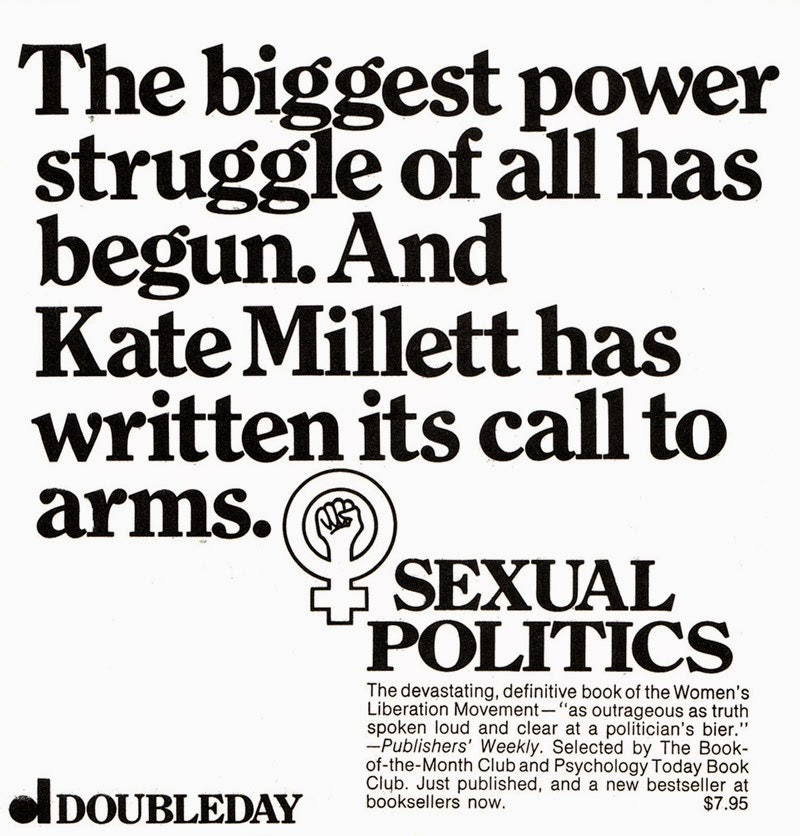Sexual politics kate millett