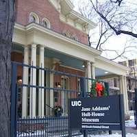Jane Addams' Hull House helped assimilate immigrants over a century ago--Wikipedia.org