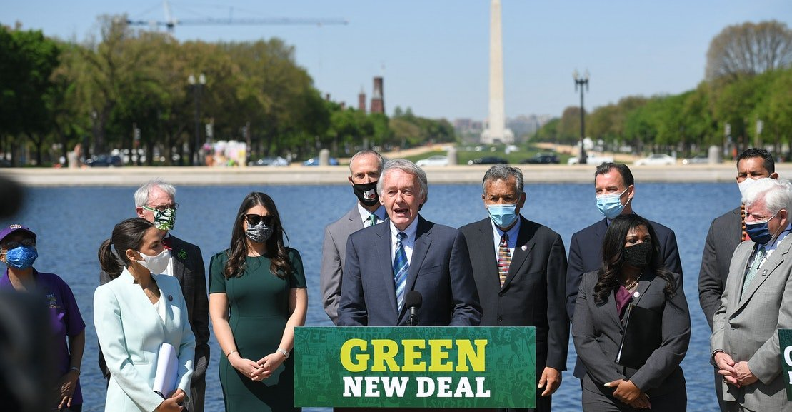 """What Does Progressive Democrats' """"No Climate, No Deal"""" Threat Actually Mean?"""