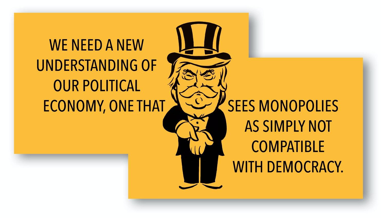 monopoly features advantages disadvantages