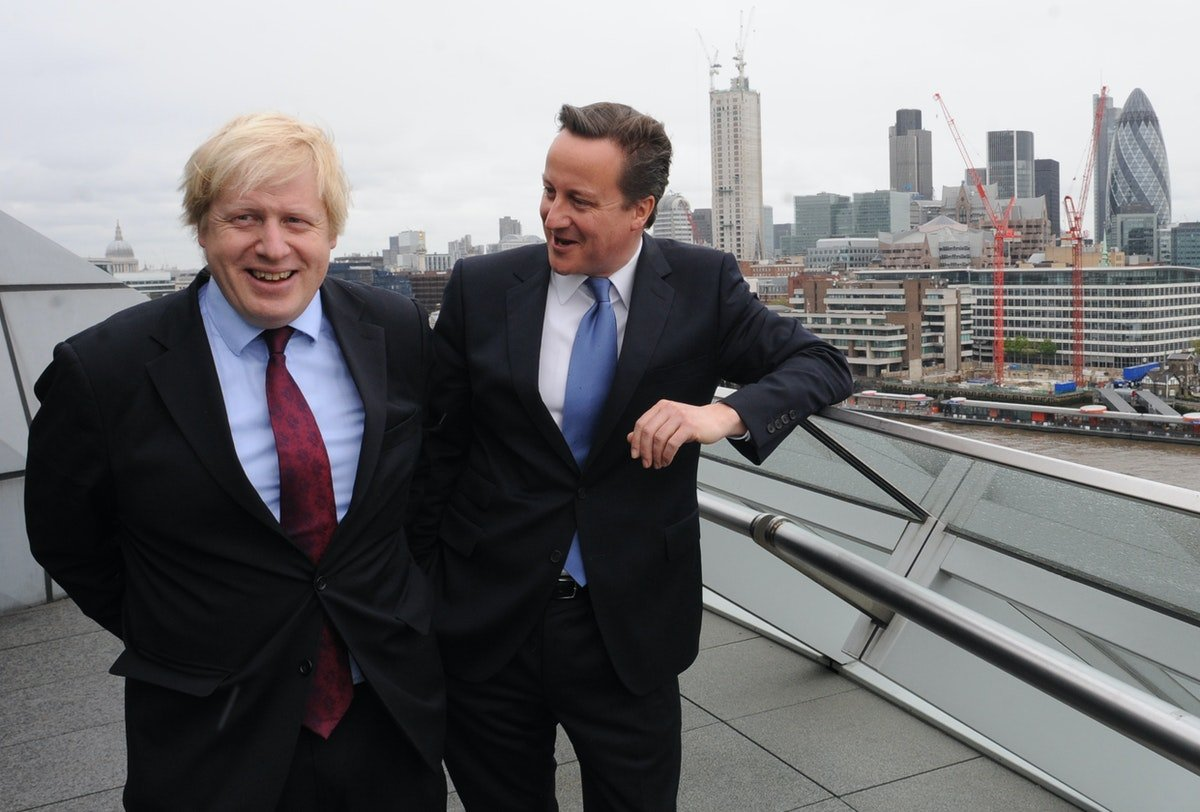 Image result for boris johnson 2012 victory
