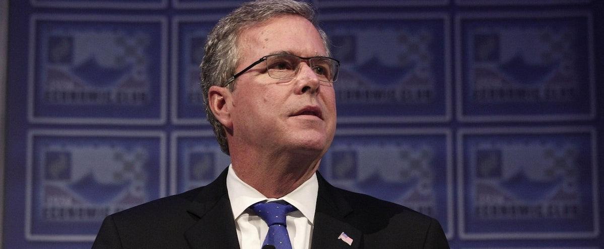Jeb Bushs 2015 Detroit Speech Reveals His Primary Election Problem