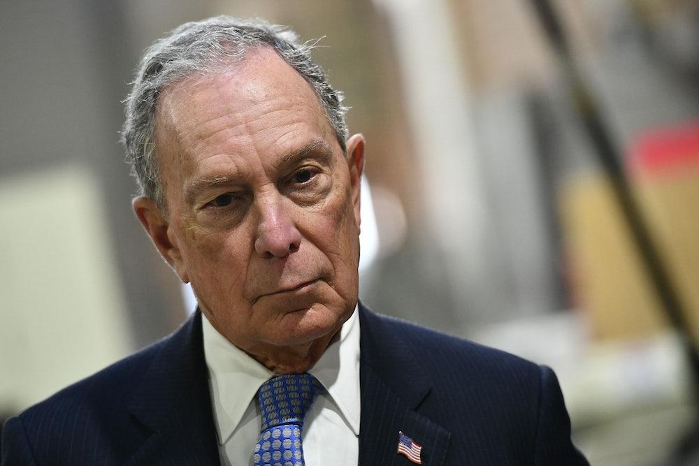 Michael Bloomberg Puts Democrats in Moral Peril