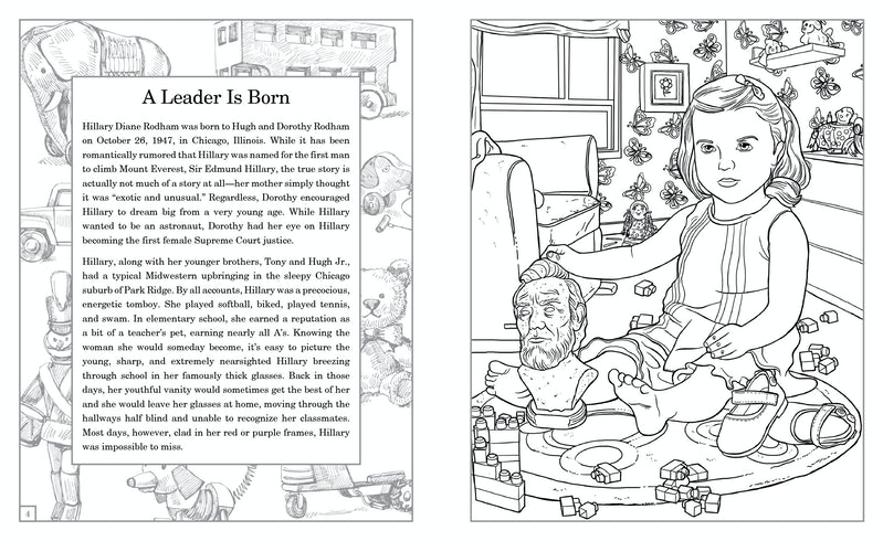 From Hillary The Coloring Book 2014Ulysses Press