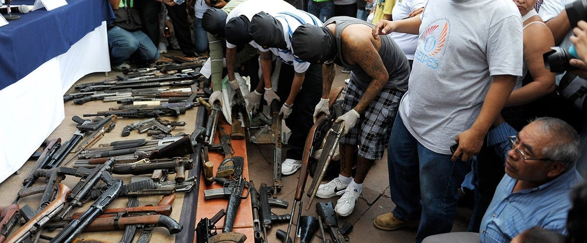 Guns Fueling Immigration from Central America Come from U S