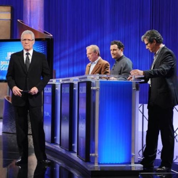 of three televised events starting tonight an ibm supercomputer named watson is set to compete against two human champions on the game show jeopardy