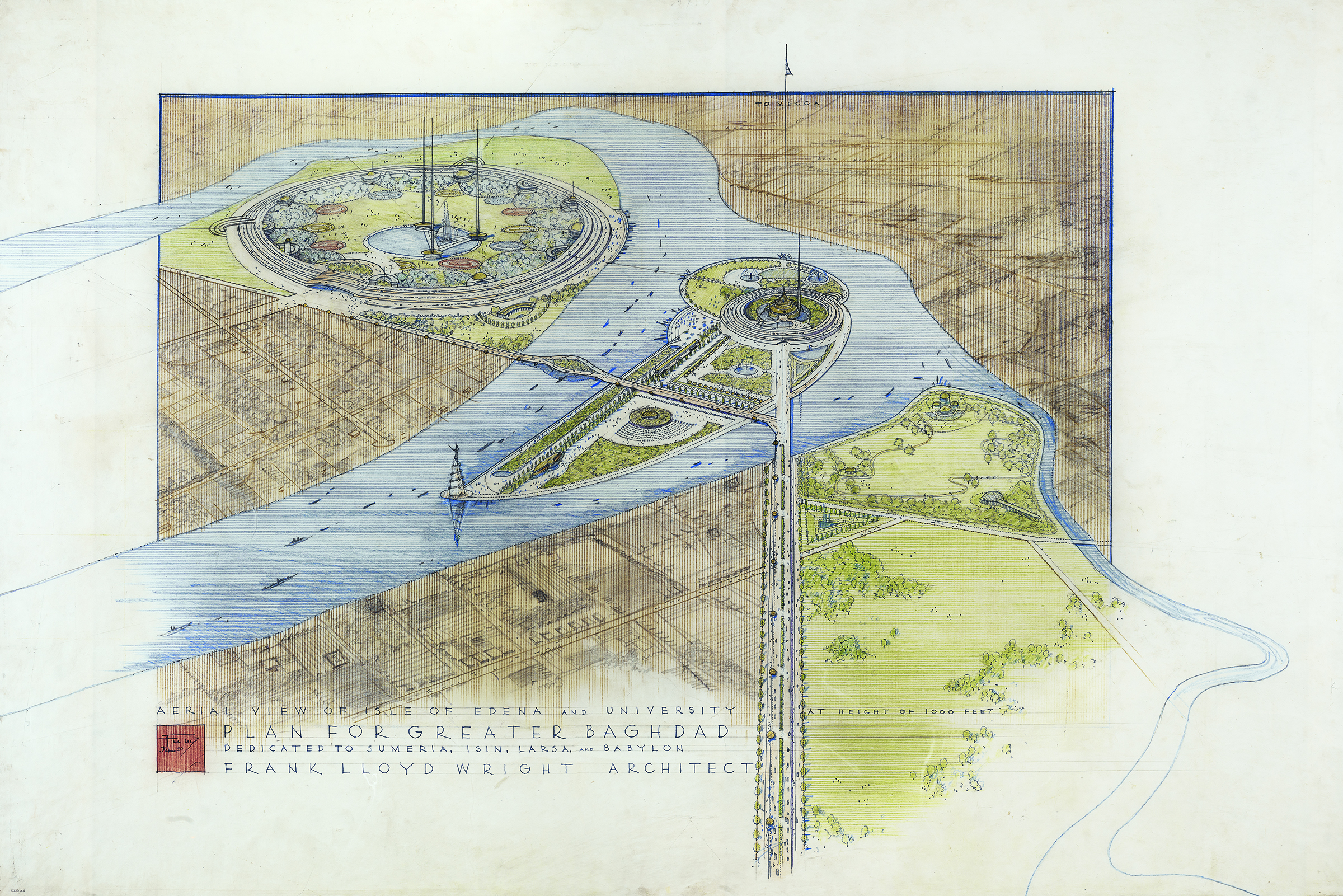 The Unrealized Visions Of Frank Lloyd Wright The New Republic