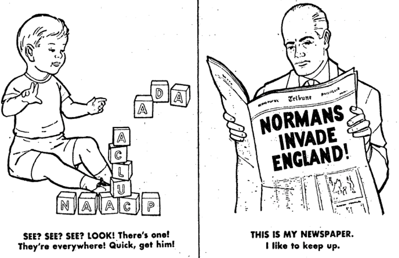 From The John Birch Society Coloring Book 1962The New York Times Archive