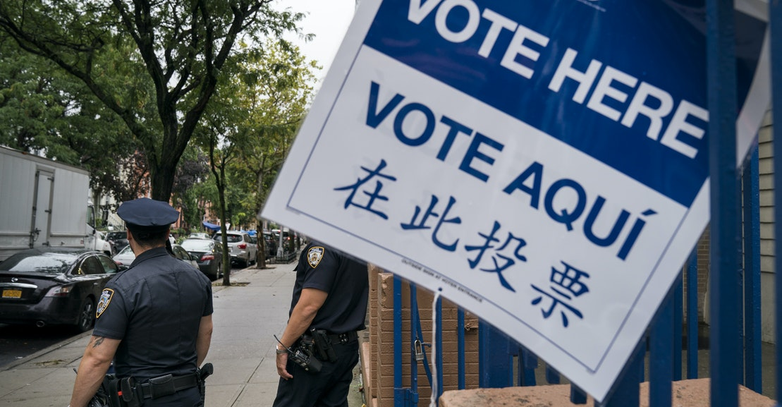 We Can't Trust Cops to Protect the Polls