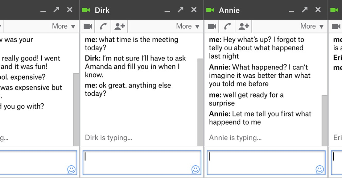 Gchat Typing Indicator The Most Awkward Feature Of Online Chat