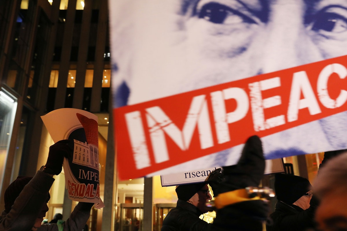 The End Of Impeachment The New Republic