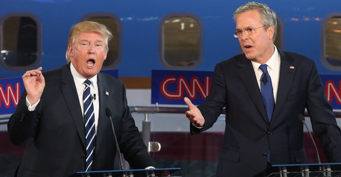 Highlights From Second Republican Debate of 2016, on CNN ...