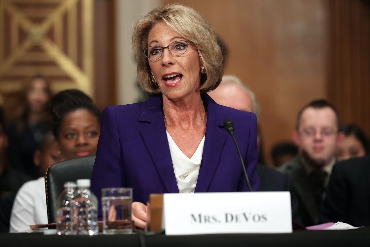 Betsy Devos Nomination Chilling >> Betsy Devos S Confirmation Victory Is A Huge Loss For America S
