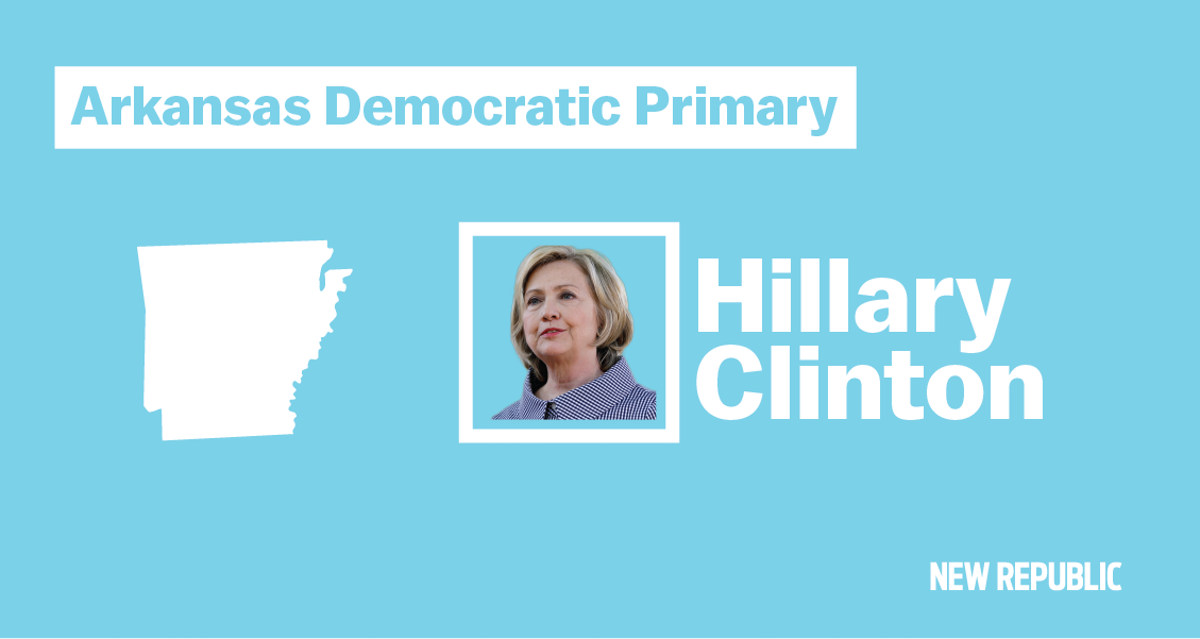 Hillary Clinton S Former Home State Goes To