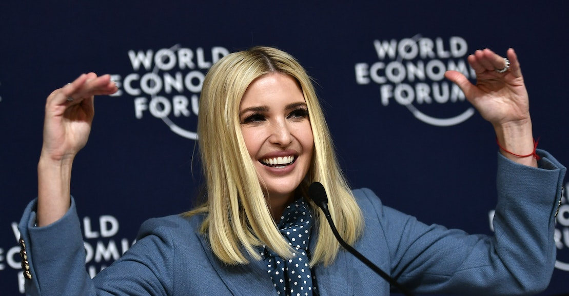 Ivanka Trump and Lockheed Martin Want You to Reach for the Stars and Stop Collecting Unemployment