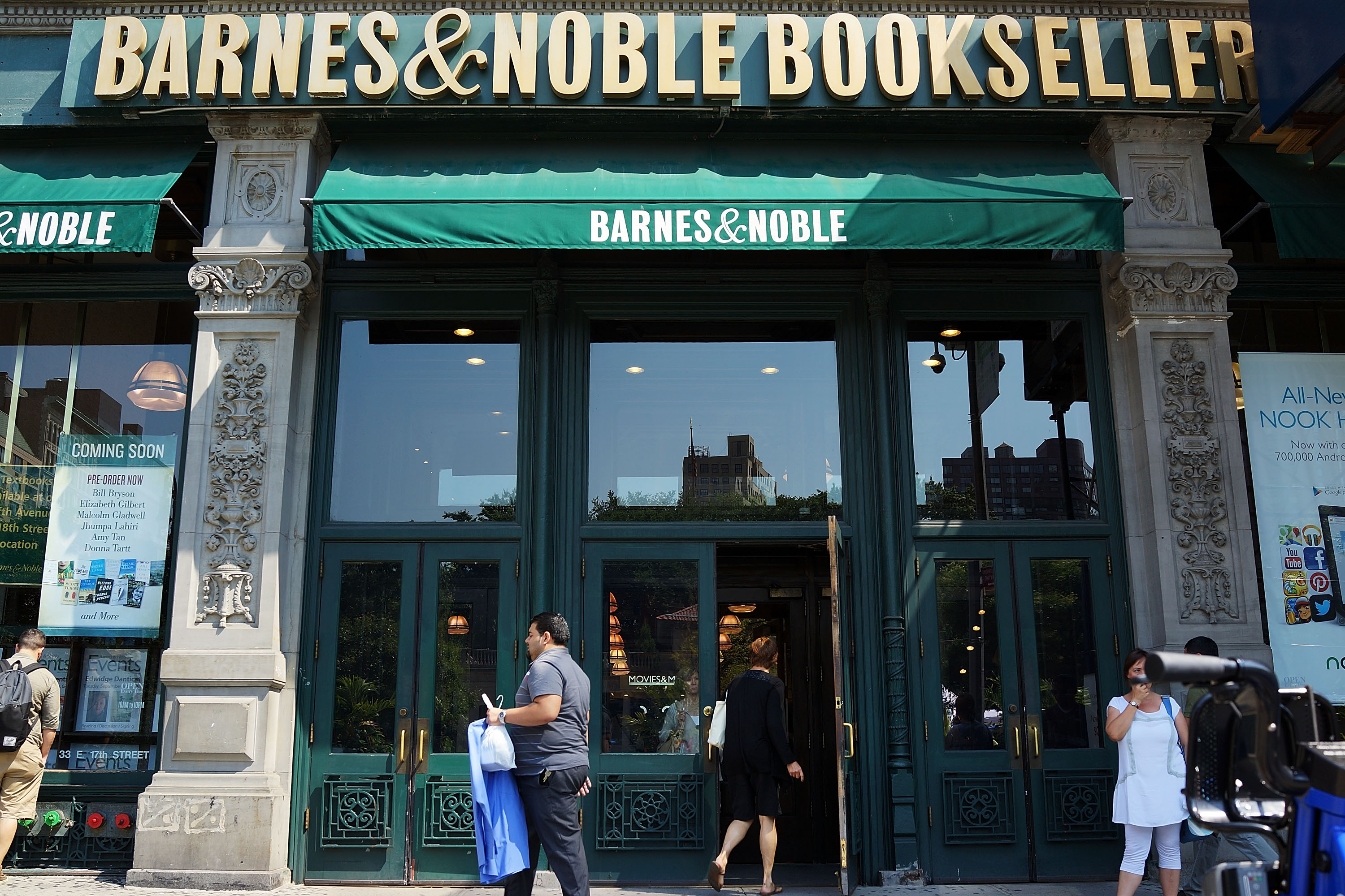 Barnes Noble wants to be a lifestyle brand not a bookstore