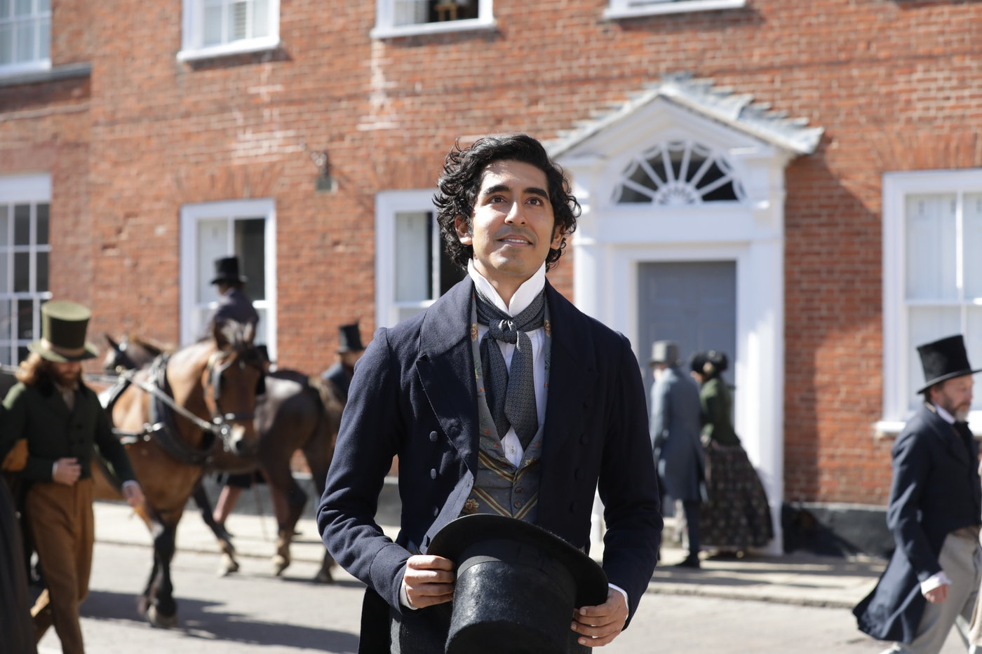 "Dev Patel in ""The Personal History of David Copperfield."""