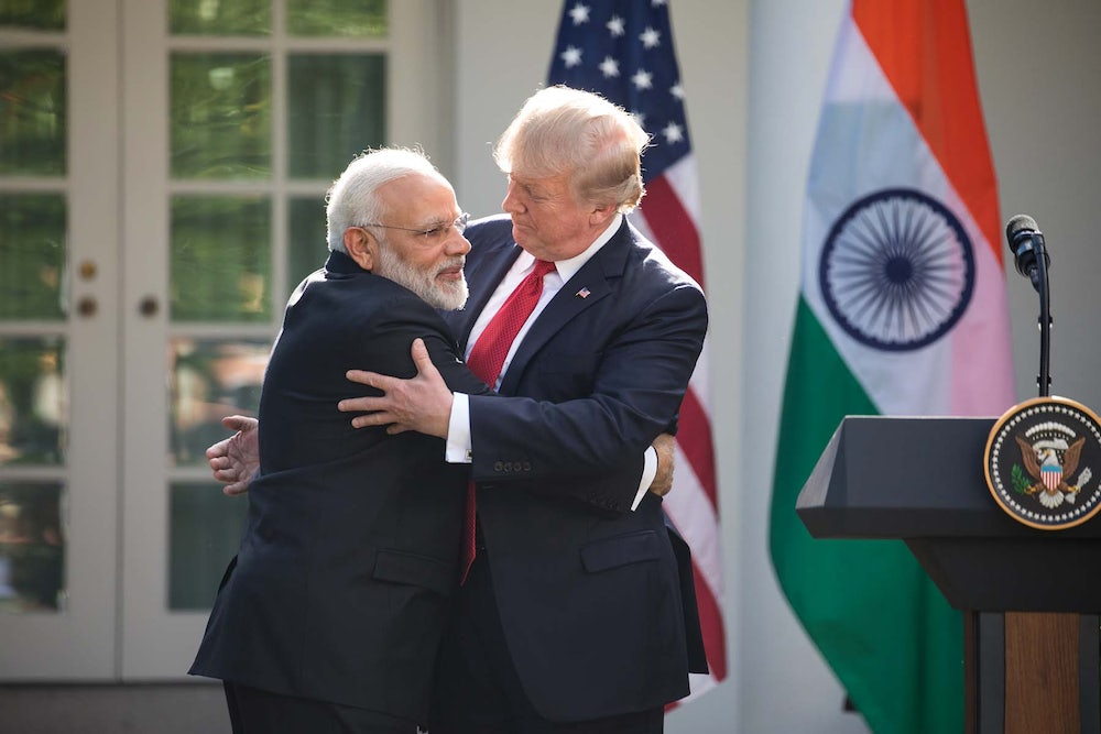 How Trump's Business Partnerships in India Are Undermining the