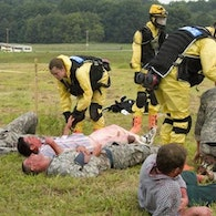 Homeland Security Training exercise--Indiana National Guard photo