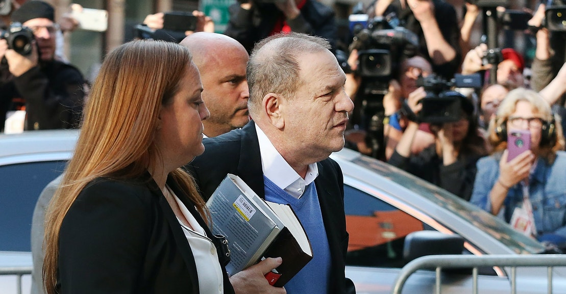 Was Harvey Weinstein sending a message with the books he carried to his  arrest? | The New Republic