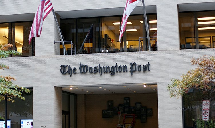 Washington Post building, Dion Hinchcliffe/Flickr