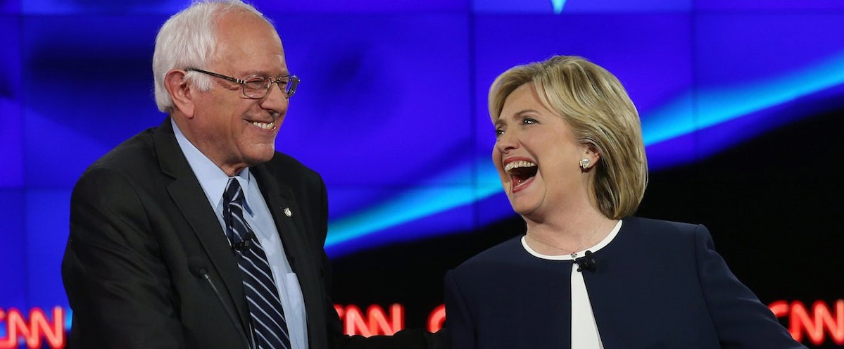 highlights from first democratic presidential debate of 2016 on cnn