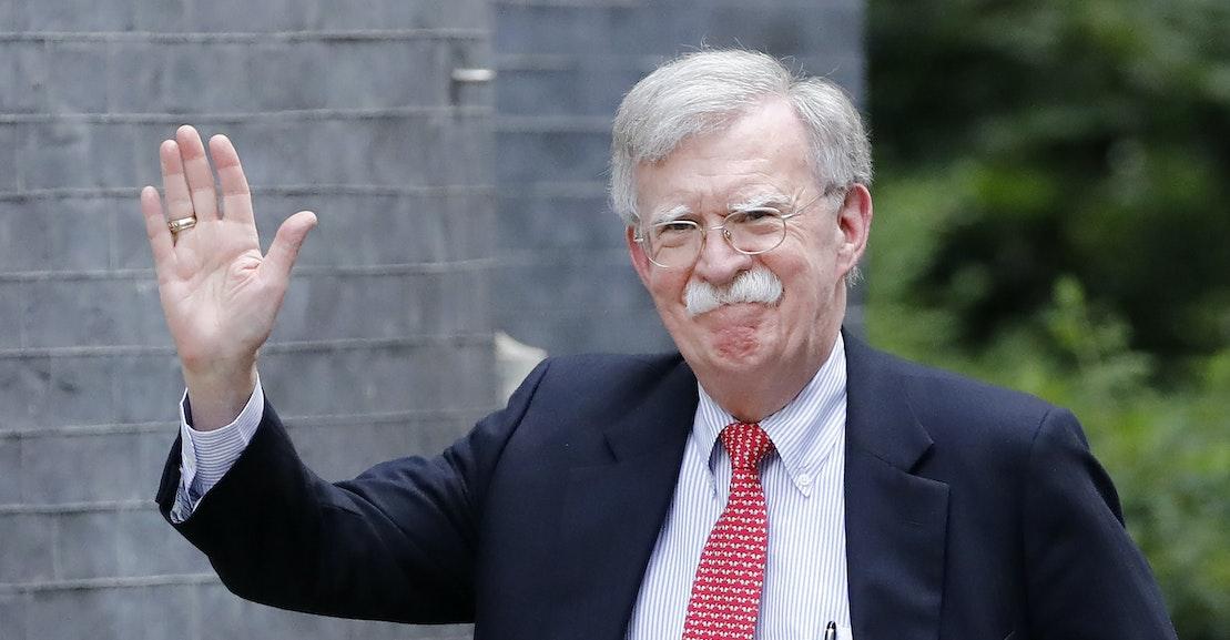 John Bolton Has Run the Trump White House's Greatest Scam