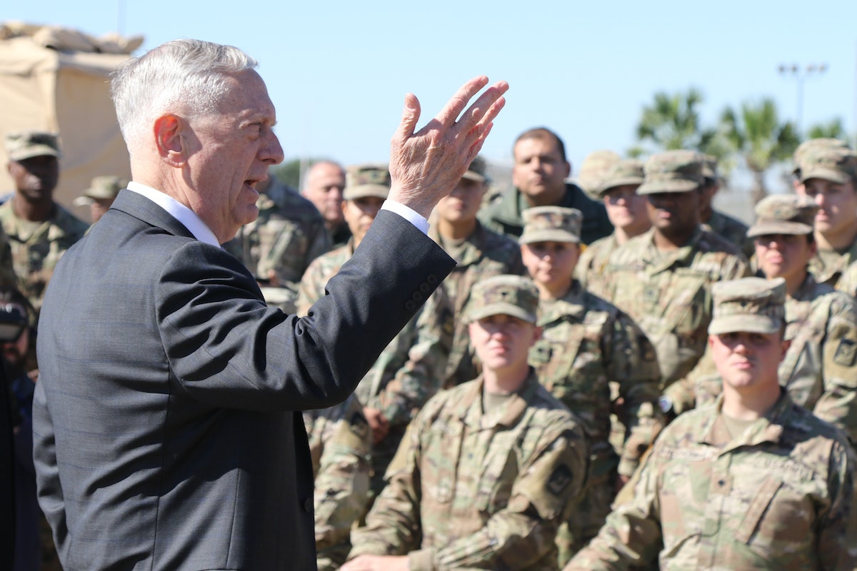 "James Mattis's Bizarre Cult of ""Lethality"" 