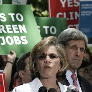 Sen.s Boxer and Kerry--Photo by David Pierpont.
