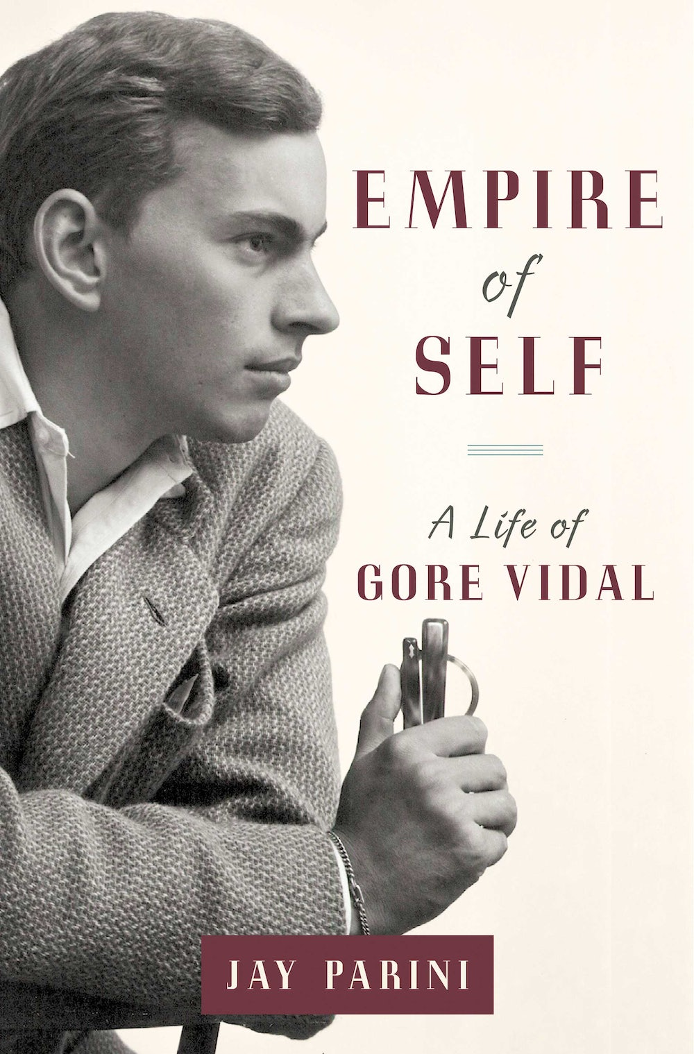 """... framed magazine covers featuring Gore Vidal. """"When I come into this  room in the morning to work,"""" Vidal explained, """"I like to be reminded of  who I am."""""""