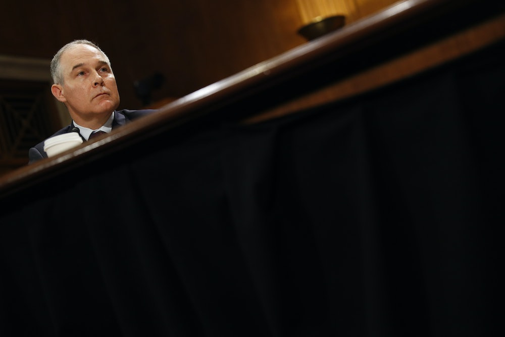 What Is Scott Pruitt Hiding?
