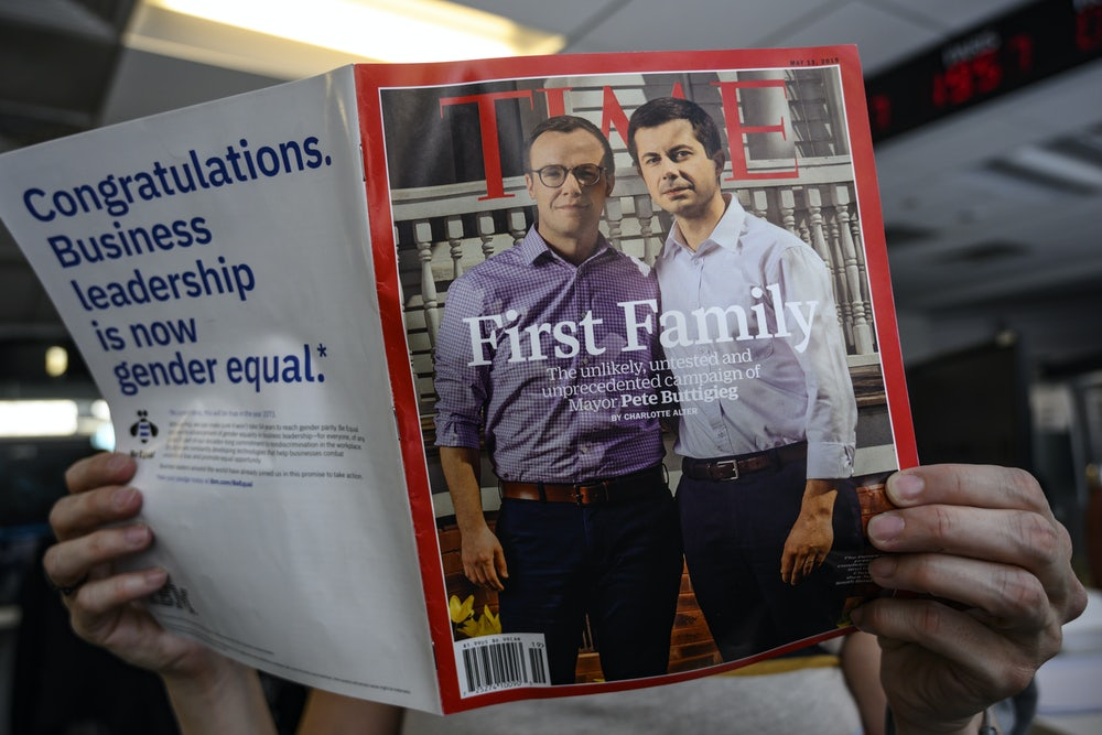No, the Buttigiegs Are Not Straight