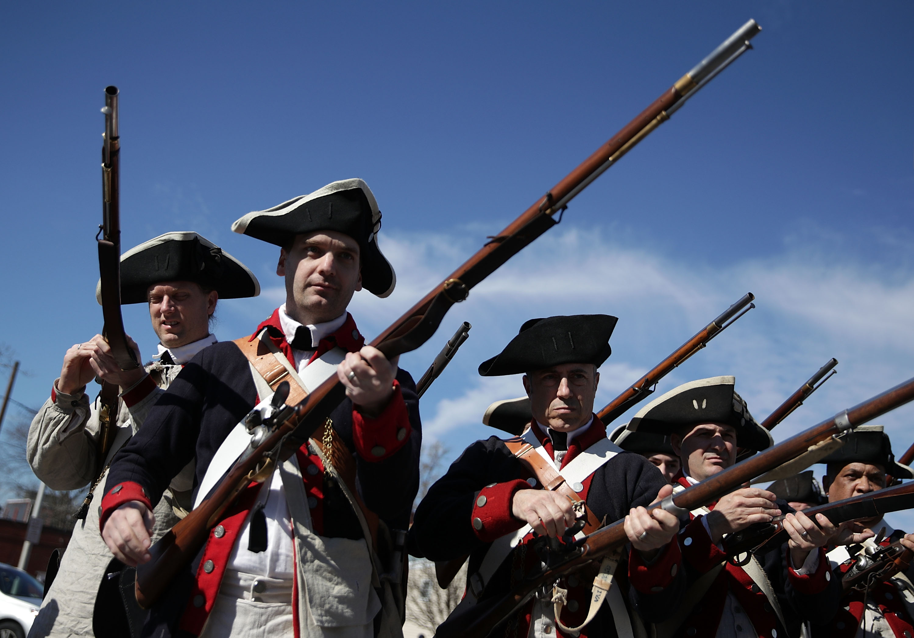 How a Bunch of Revolutionary War Reenactors Got Caught Up in Facebook's Purge of Militia Groups thumbnail