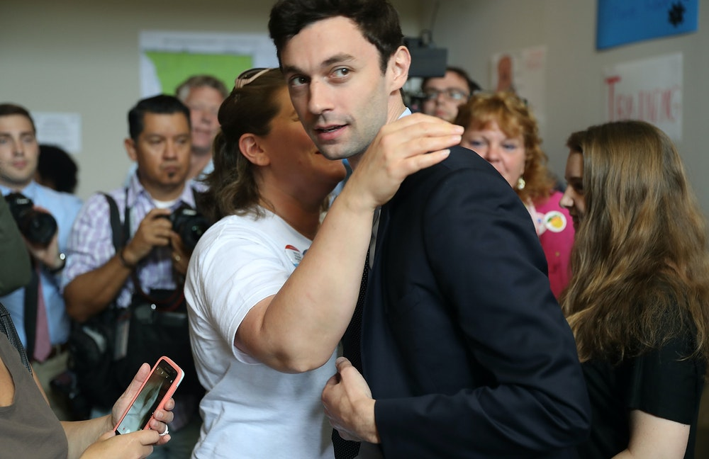 The Enduring Mystery of Jon Ossoff