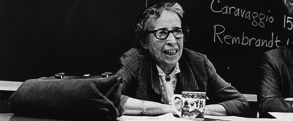 review of hannah arendts on violence Hannah arendt described the holocaust as a 'rupture with civilisation' that shattered all existing ideas of arendt, essays, pp 307-327, originally published in partisan review, xx, 4,1954 6 quoted in j roth and m violence is exercised as a means either to retain power, or to intimidate enemies, or force people to work.