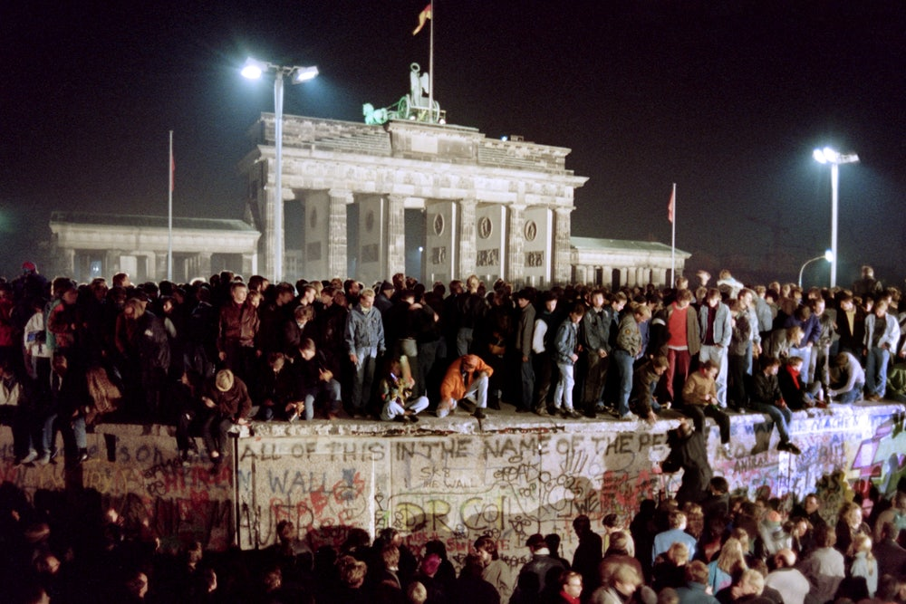 Trump Has Squandered the Legacy of the Berlin Wall