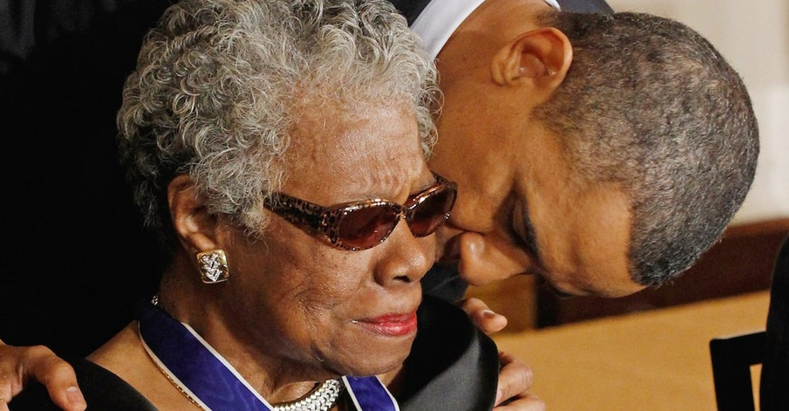 Saint Maya Angelou The Product Of A Blissfully Bygone America The