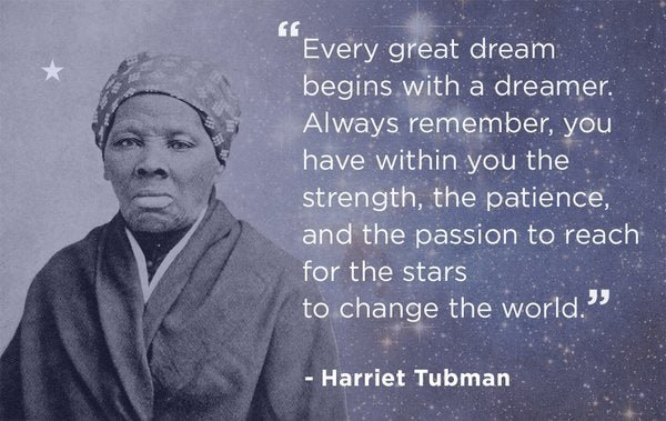 Bill De Blasio Tweeted A Fakeashell Hallmarkesque Harriet Tubman Awesome Harriet Tubman Quotes