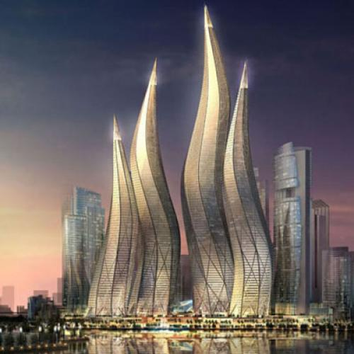 Slideshow Curtains For Dubai S Megaprojects The New